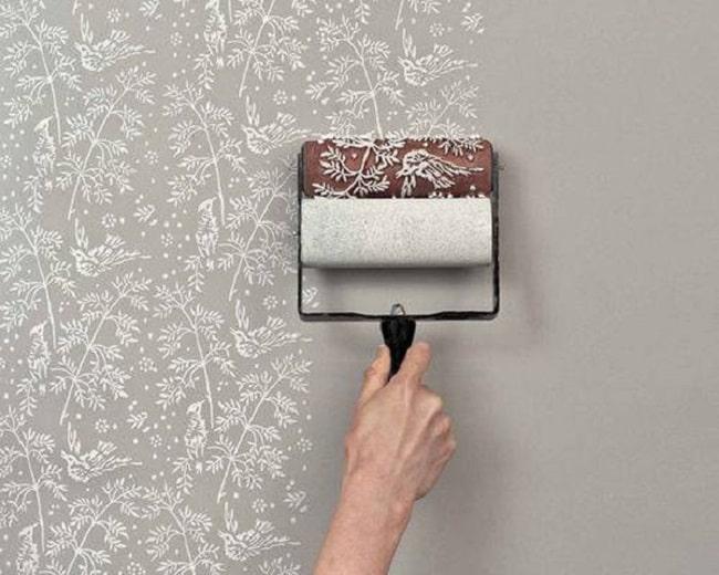 cách trang trí tường cũ bằng sơn handmade