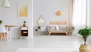cách trang trí tường cũ cho phòng khách