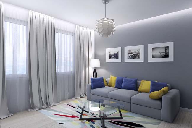 Thiết kế kiến trúc nhà phố 4 tầng đẹp dành cho phòng ngủ