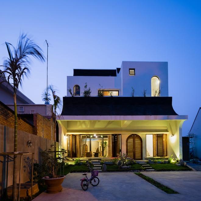 Thiết kếkiến trúc nhà đẹp 2 tâng hiện đại vàcổ điển