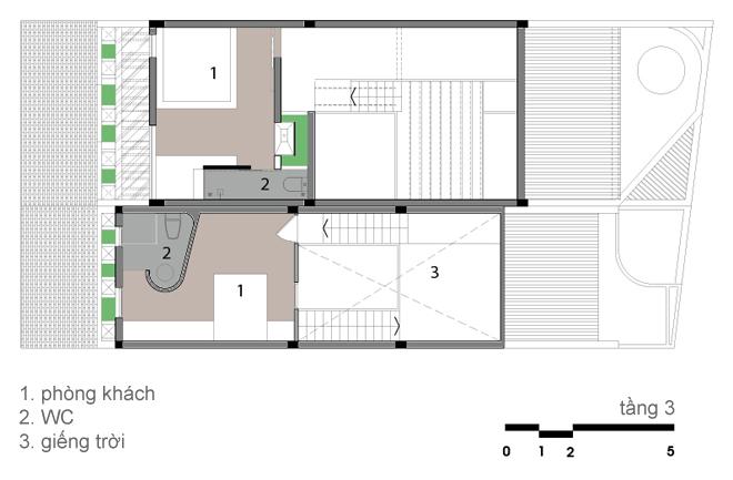 Thiết kếkiến trúc nhà đẹp 2 tâng hiện đại và cổ điển