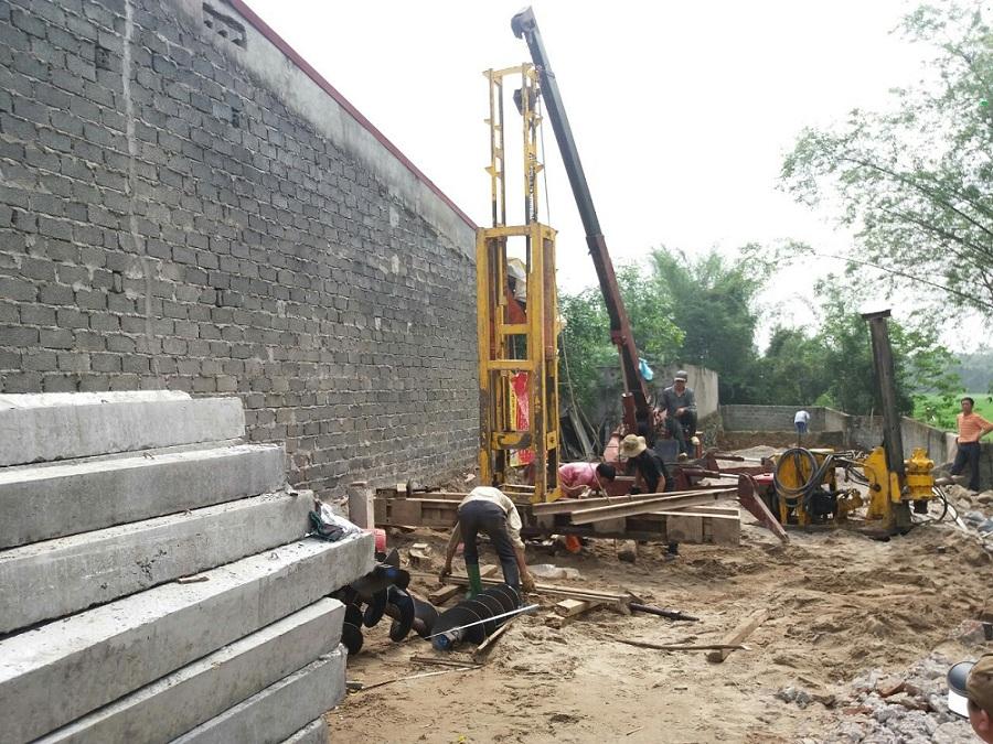 giá ép cọc bê tông nhà dân tại tphcm